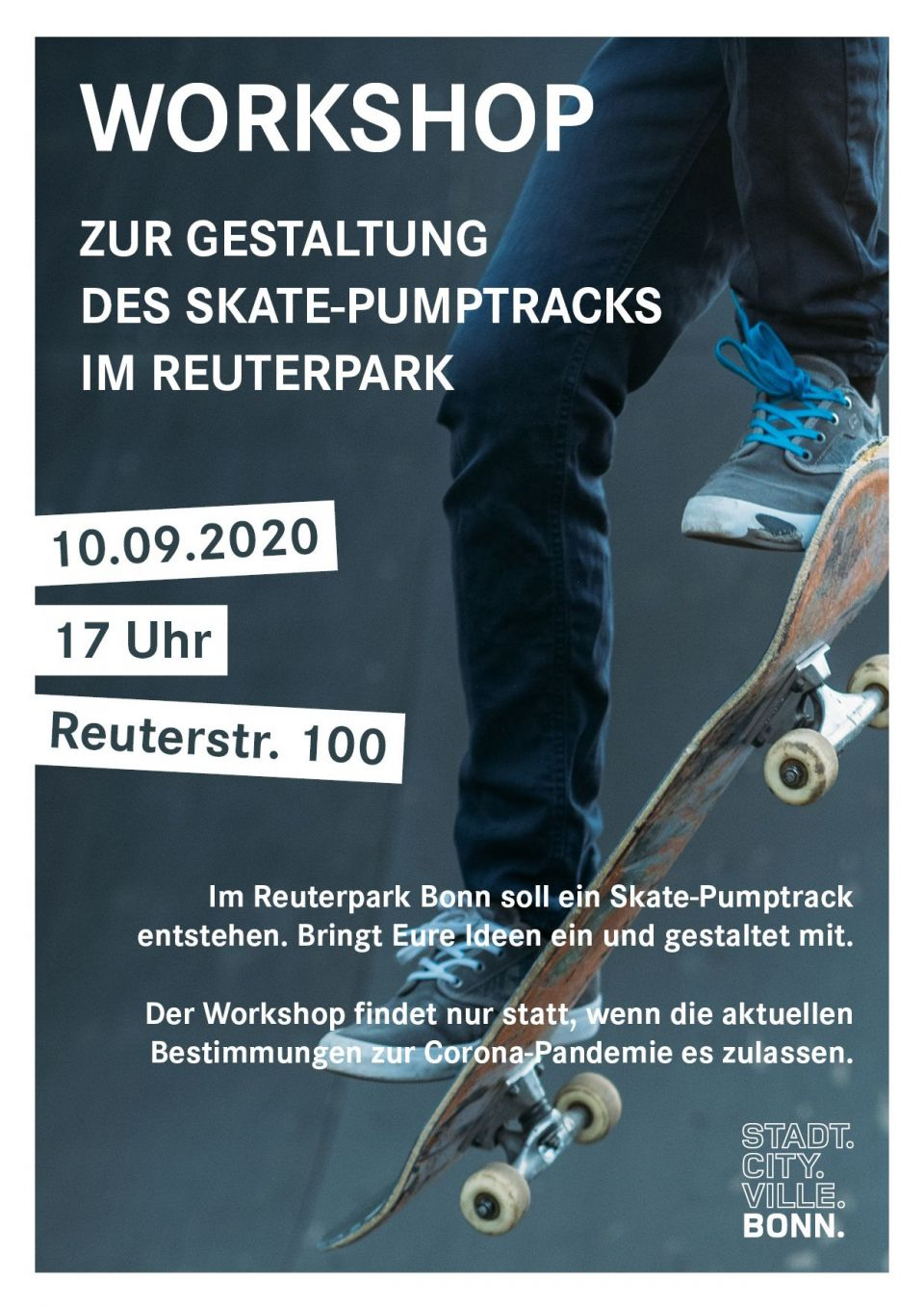 Workshop Skate-Pumptrack Reuterpark